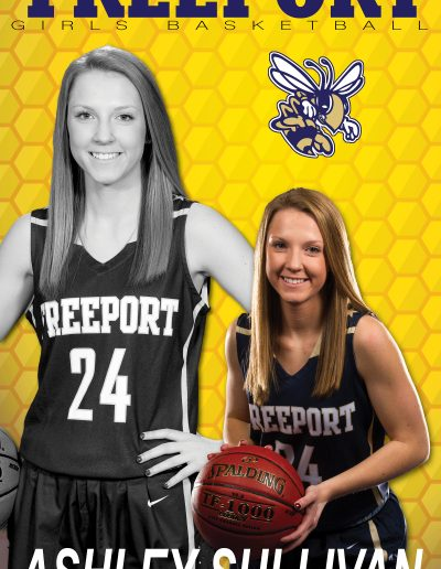 Freeport Girls BB Ashley Sullivan