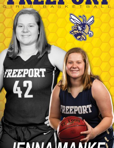 Freeport Girls BB Jenna Manke